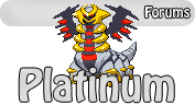 Platinum: Forums